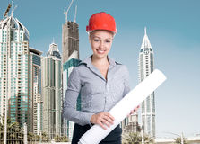Successful architect Royalty Free Stock Photos