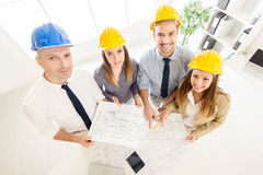 Successful Architects Team Stock Images