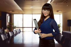 Successful asian business person Royalty Free Stock Photo
