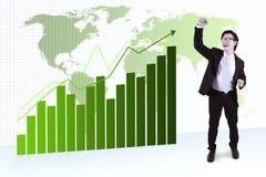 Successful asian businessman Royalty Free Stock Photos
