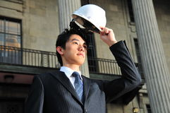 Successful Asian Engineer 1 Royalty Free Stock Image
