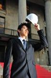 Successful Asian Engineer 3 Royalty Free Stock Photos