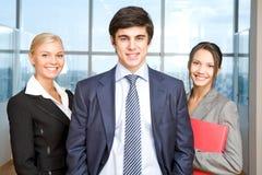 Successful associates royalty free stock photos