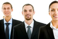Successful associates Royalty Free Stock Photo