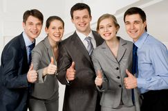 Successful associates Stock Images