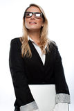 Successful attractive businesswoman Royalty Free Stock Image