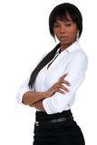 Successful black businesswoman Royalty Free Stock Image