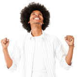 Successful black man Royalty Free Stock Images