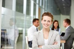Successful boss Royalty Free Stock Images