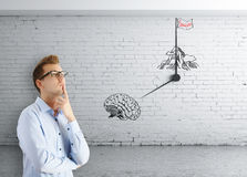 Successful brainstorming session Royalty Free Stock Photography
