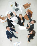 Successful busines team  in an modern office Stock Photos