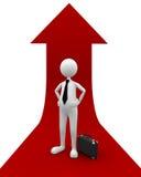 Successful Business. Great concept depicting economy raise, business success, etc Stock Image
