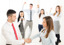 Successful Business Agreement Royalty Free Stock Photos