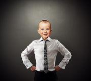 Successful business baby Royalty Free Stock Images