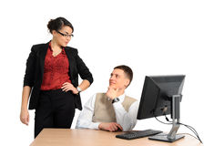 Successful business colleagues Stock Photo