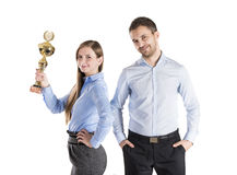 Successful business colleagues Royalty Free Stock Images