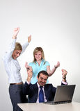 Successful business colleagues Royalty Free Stock Photos