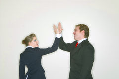 Successful business couple Stock Photo