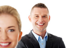 Successful business couple Royalty Free Stock Image