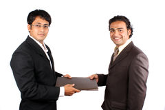 Successful Business Deal Royalty Free Stock Photos
