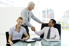 Successful business deal royalty free stock photo