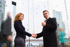 Successful business deal Stock Photos