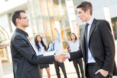 Successful Business Deal Stock Photography