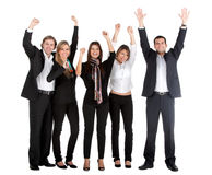 Successful business group Royalty Free Stock Image