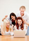 Successful business group Stock Photo