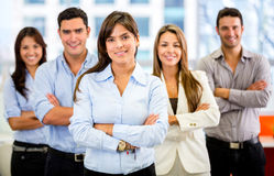 Successful business group Royalty Free Stock Photos