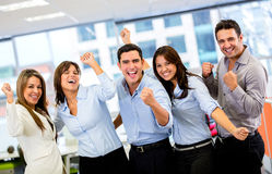 Successful business group Royalty Free Stock Photo