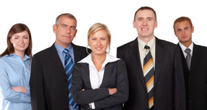 Successful business group Stock Photography