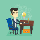 Successful business idea vector illustration. Royalty Free Stock Photos