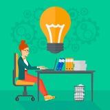 Successful business idea. Stock Image