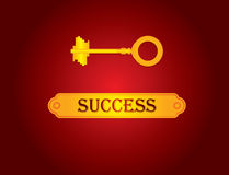 A successful business key Stock Photo