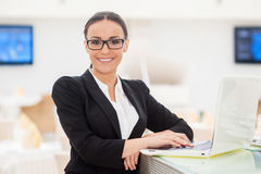 Successful business lady. Stock Photos