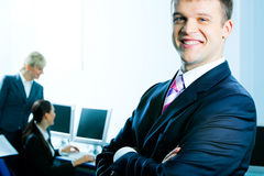 Successful business leader Royalty Free Stock Photos