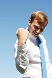 Successful business man Stock Photos