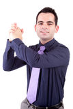Successful business man royalty free stock photography
