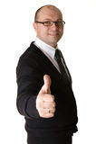 A successful business man Stock Photography