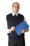 A successful business man Stock Image