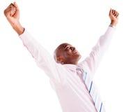 Successful business man Stock Image