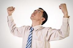 Successful business man portrait Stock Photography