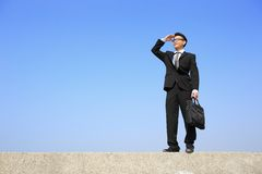 Successful business man Royalty Free Stock Image