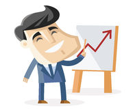 A successful business Royalty Free Stock Image