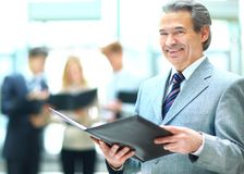 Successful business man Stock Photography