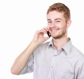 Successful business man talking on the phone Royalty Free Stock Photo