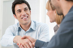 Successful business meeting Royalty Free Stock Photo