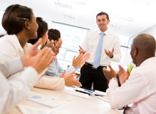 Successful business meeting Stock Images