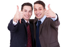 Successful business men Stock Photos